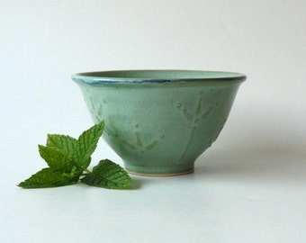 Ceramic Dessert Bowl / Ice Cream Bowl / Tea Bowl In Mint (II)