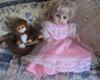 EEGEE Doll,  Baby Girl Doll, Blonde Baby Doll, Vintage Baby Doll, Vintage Toys, Toys, Childhood Memories,   :)S