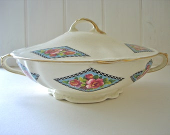 China Tureen - Serving Dish - 1950's China