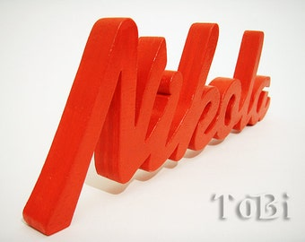 Wood Letters, child's room decor