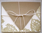 Gold and White, Blank Card Set