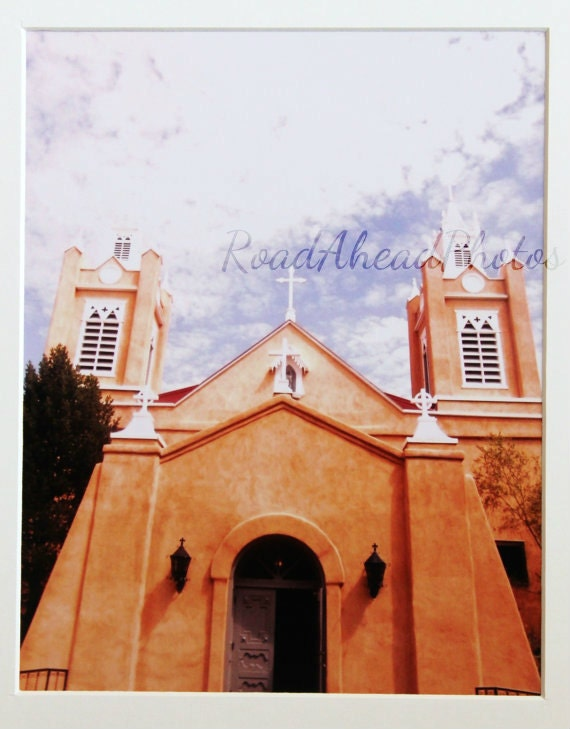 8x10 San Felipe de Neri Church: Albuquerque, Old Town
