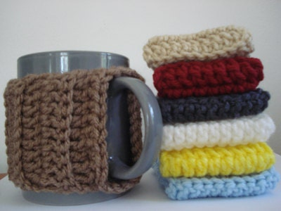 CROCHET Mug Warmer