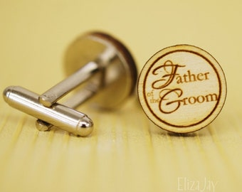 Father of the Groom cuff links