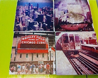 Chicago Coasters, Set of 4