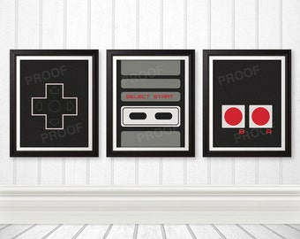 Retro Game Prints
