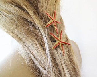 Starfish Pins, Mermaid Hair Accessories, Women Hair Style, Wedding  Hair Accessories, Beach Hair Accessories, custom handmade