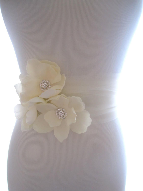 Tulle Wedding Belt