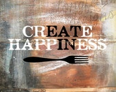 "Create Happiness ""Eat In"" - For Those Who Enjoy a Home Cooked Meal"