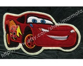 SALE Red Car Embroidered Patch
