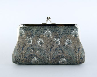 EllenVintage Liberty of London Mystery Peacock Clutch