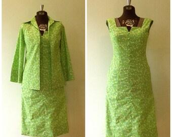 Vintage 1960's Dress / Small/Med / Key West