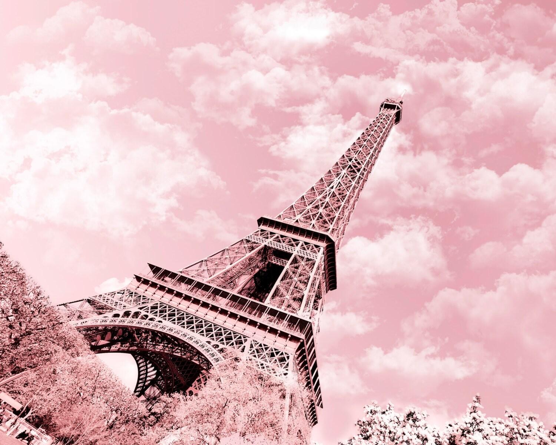 eiffel tower paris pink - photo #22