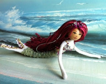 Mermaid Doll KIT - Supplies for One Doll