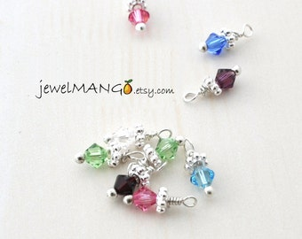 add more birthstones, swarovski crystals by jewelmango