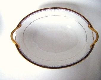 Vintage Noritake Fine China Vegetable Serving Bowl  Creates Elegant Dining For Your Table