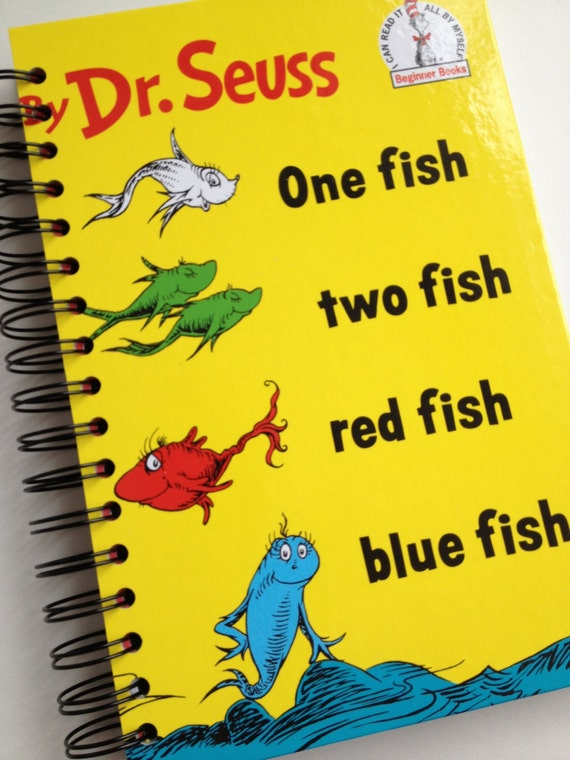 One fish two fish red fish blue fish dr seuss beginner books for Red fish blue fish book