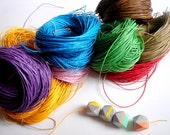 10 yards Cotton  Cord for Jewelry,Woven Waxed  Cotton cord for Necklace,Do it yourself jewelry