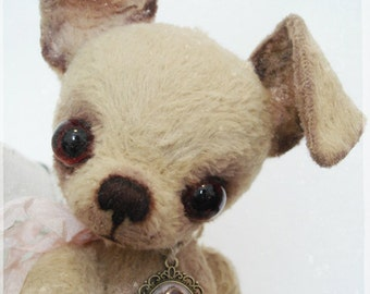 PDF Instant Download Pattern / E-Book Chihuahua LARA :) - 10 Inch - by Eileen Seifert - Teddy-Manufaktur.de