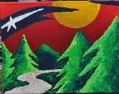 Minnesota Wild Abstract Fine Art