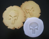 PUNISHER inspired COOKIE STAMP recipe and instructions - make your own Super Hero Cookies