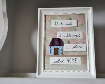 Wedding, Anniversary, New Home gift