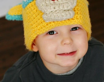 Special Agent Oso Inspired Crochet Hat  ---Please Specify Size---