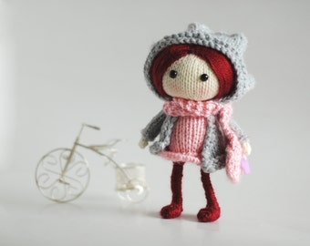Ruby. The Doll - pdf knitting pattern