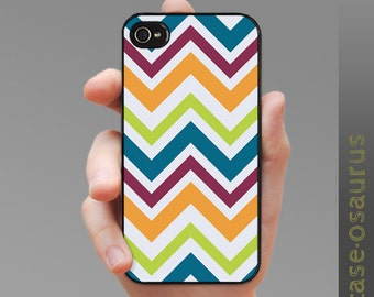 "iPhone Case - Chevron ""Supernova"", for iPhone 6, iPhone 5/5s or iPhone 4/4s, Samsung Galaxy S6, Galaxy S5, Galaxy S4, Galaxy S3"