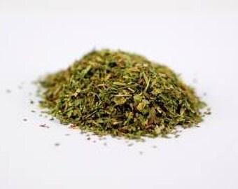 Feverfew, Fresh Dried Herb, Organic - 1 oz