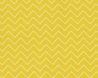 Zig Zag Yellow from  Garden Party  by Dear Stella Yard Cut