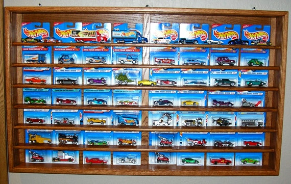 Hot Wheels Card Display Case