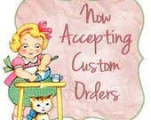 Custom listing for Bonnie MRS HARPER