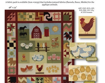 A Duck Says Quack Pattern by Kathleen Connor for Smith Street Design