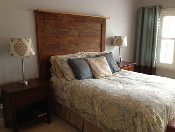 Barn Wood Headboards