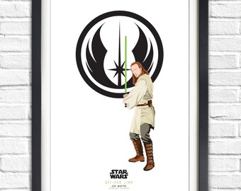 Star Wars - Solo Series - Qui Gon Jinn - 19x13 Poster