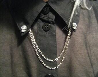 Skull collar tips