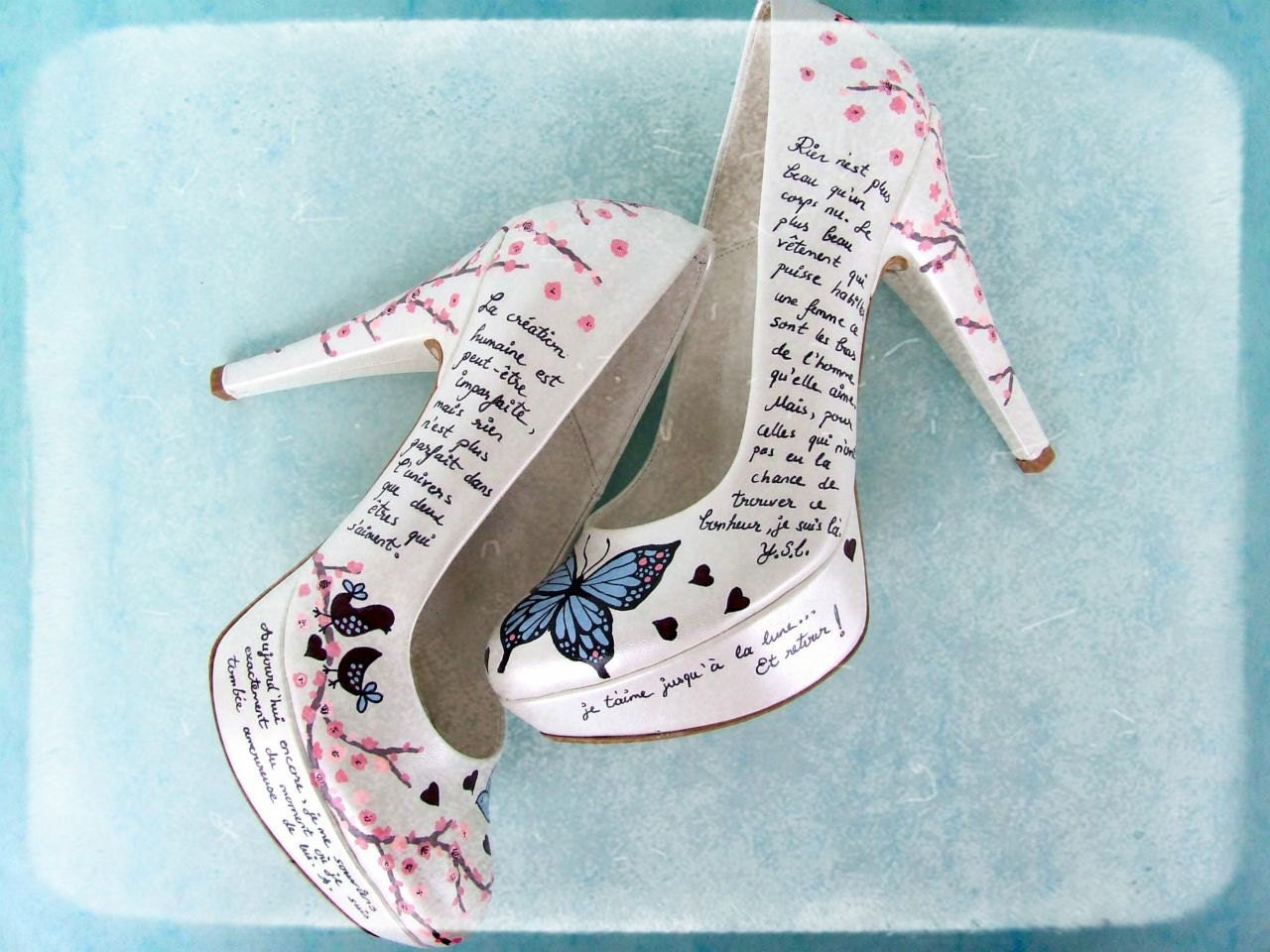 Collection Custom Wedding Shoes Pictures - Weddings by Denise