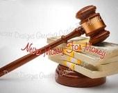 Never Marry For Money...Divorce For Money....Divorce Humor Card