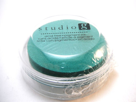 Blue Teal Ink Pad STUDIO G