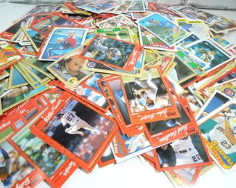 Vintage Baseball Cards. Set of 500. Sports Fans. America's Pastime. Gifts for Manly Men. Sports Collectibles. Man Cave. Media Room.