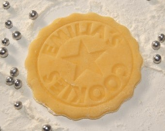 Cookie Stamp - Bisciut Stamp personalized with your Name