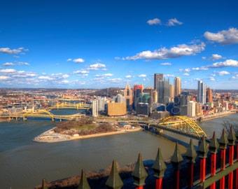 Pittsburgh Skyline Photograph