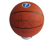 Larry Bird Autographed Basketball with Certificate of Authentication
