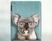 Koala iPad 3 case, iPad 2 case Koala iPad mini case Koala pet funny gift ideas smartphone christmas gift birthday gift