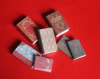 Dollhouse Miniature set of classic books ...set n. 5