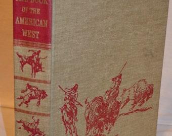BOOK SALE! Vintage Hardback Book: American West 1969