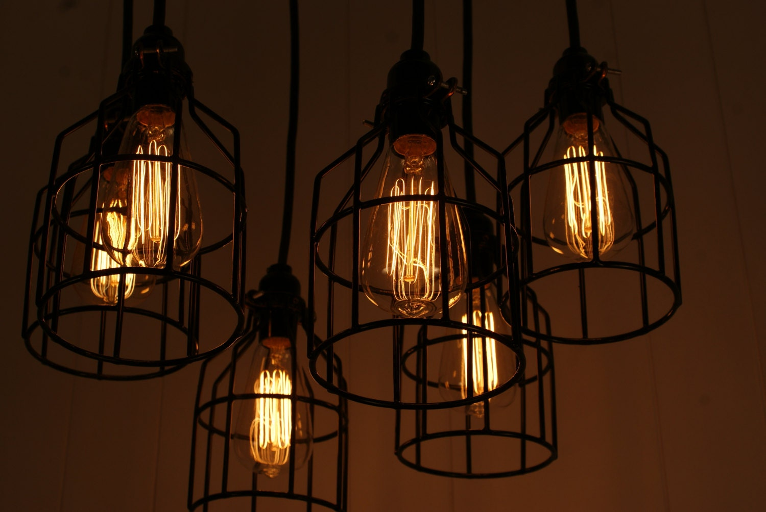 10 edison led rustic chandelier pendant lights reclaimed woo