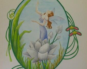 Lotus flower Fae