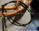 Double Stranded seed beads - waistbead